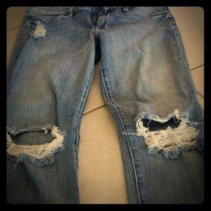 Rich & Skinny skinny distressed jeans
